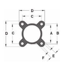 Профиль из алюминиевых сплавов для пневматики серия 90-Mickey Mouse