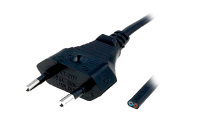 Кабель питания KLS Electronic S1-2/07/1.8BK