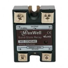 Твердотельное реле Maxwell MS-DD22040 (DC-DC; 40A, 220V DC)