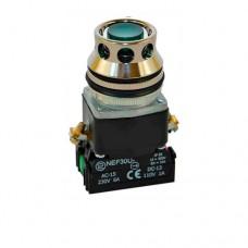 Кнопка управления с подсветкой Promet NEF30-KLb